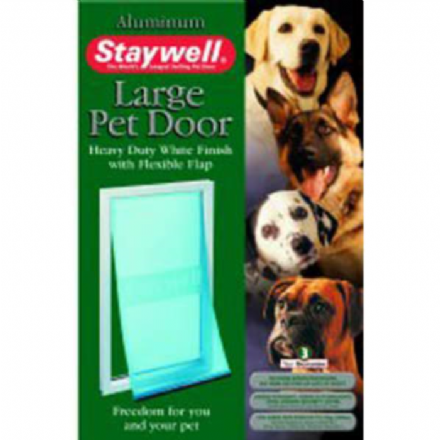 Staywell Aluminum Large Pet Door For Dogs Up To 45KG